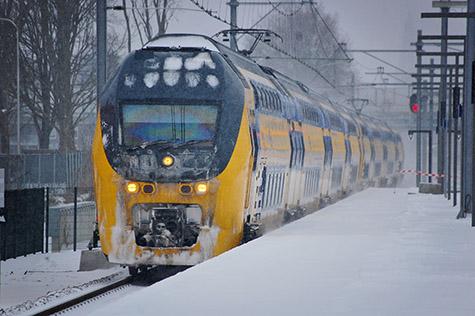 Weinig treinen meer naar de Randstad