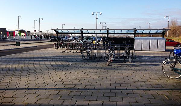 Noorderstation krijgt extra fietsenstallingsruimte