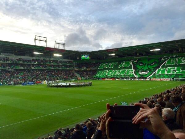 Geen bussen meer naar Euroborg rond FC Groningen