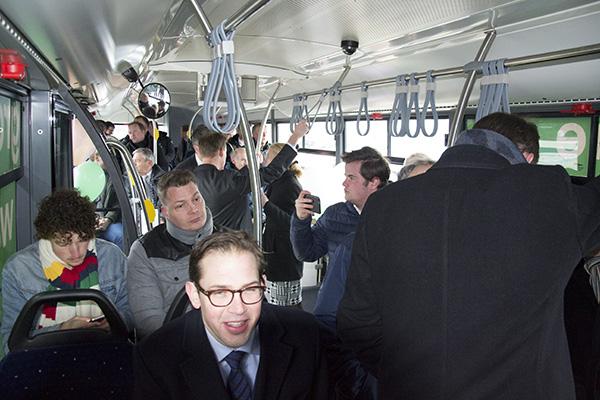 Extra bussen vanwege gratis vervoer