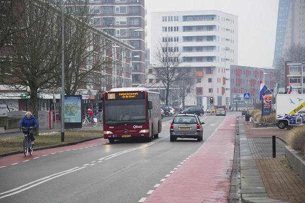 Maand lang geen bussen in Oosterpoort