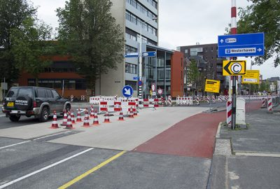 Aanleg Centrumhalte West vordert gestaag (foto's)